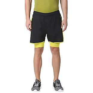 Wildcraft Men Running Shorts - Black