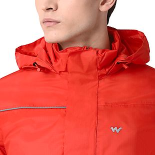 Wildcraft Hypadry Unisex Rain Pro Jacket - Orange