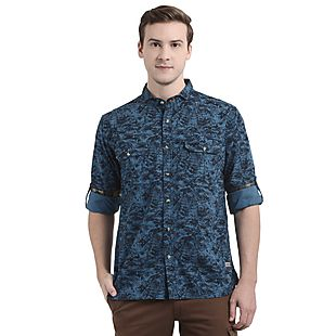 Wildcraft Men Camo Shirt