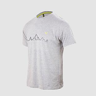 Wildcraft Wildcraft Printed Crew T-Shirt Men - Grey Melange