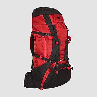 Wildcraft Rucksack For Trekking Alpinist Plus 55L - Red