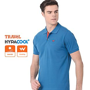 Wildcraft Men Polo T Shirt - Blue