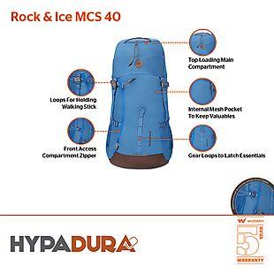 Wildcraft Rock and Ice MCS 40