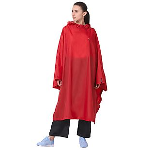 Wildcraft Hypadry Plus Unisex Rain Poncho - Red