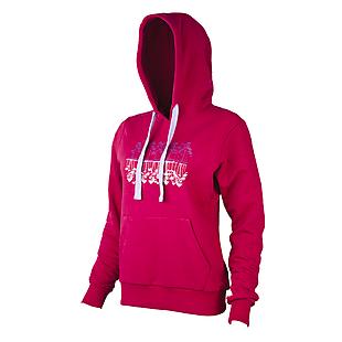 Wildcraft Women Hoodie Sweatshirt - Dark Pink
