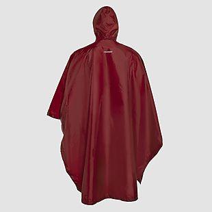 Wildcraft Hypadry Plus Unisex Rain Poncho - Monk Red