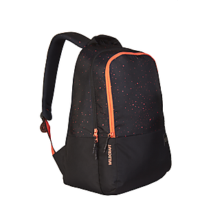 Wildcraft Wiki 1 Spray Backpack - Black
