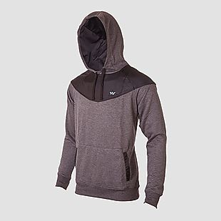Wildcraft Men Wind Stopping Sweatshirt For Winter - Black Melange