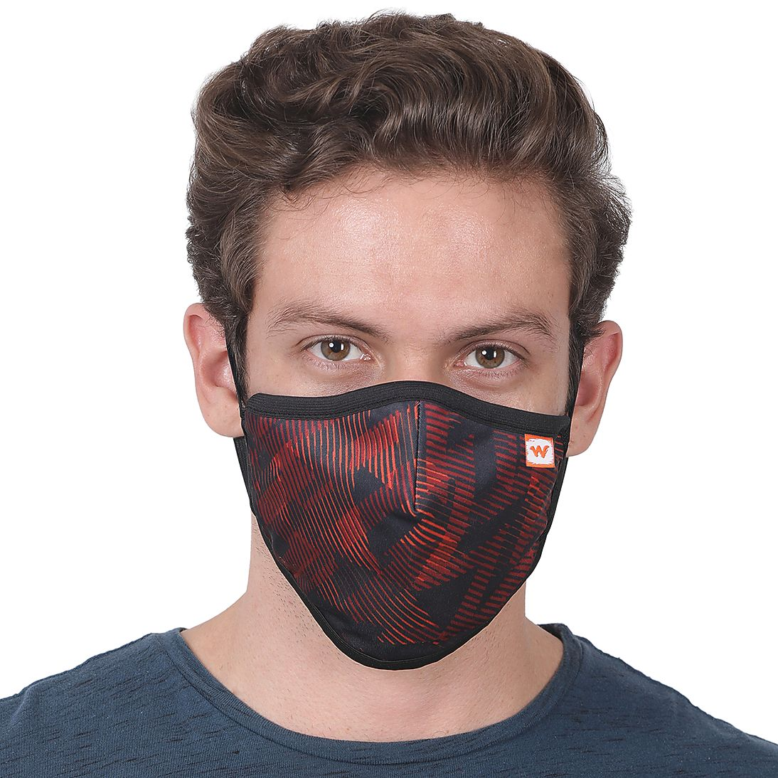 SUPERMASK W95 Plus Reusable Outdoor Respirator - SUBLIMATION TRIZI RED...